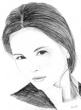 Virginie Ledoyen by Phoebe